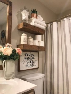 Vintage Farmhouse Bathroom Decor Design Ideas05