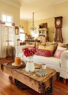 Wonderful French Country Design Ideas For Living Room27