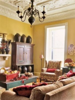 Wonderful French Country Design Ideas For Living Room33