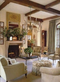 Wonderful French Country Design Ideas For Living Room39