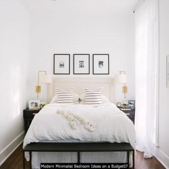 Modern Minimalist Bedroom Ideas On A Budget07