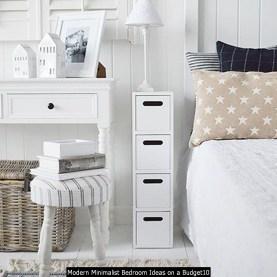 Modern Minimalist Bedroom Ideas On A Budget10