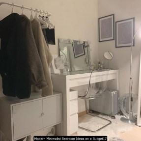 Modern Minimalist Bedroom Ideas On A Budget17