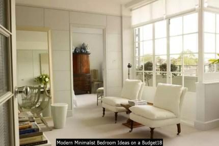 Modern Minimalist Bedroom Ideas On A Budget18