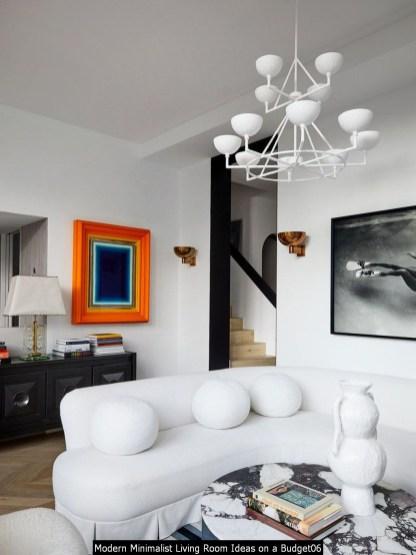 Modern Minimalist Living Room Ideas On A Budget06