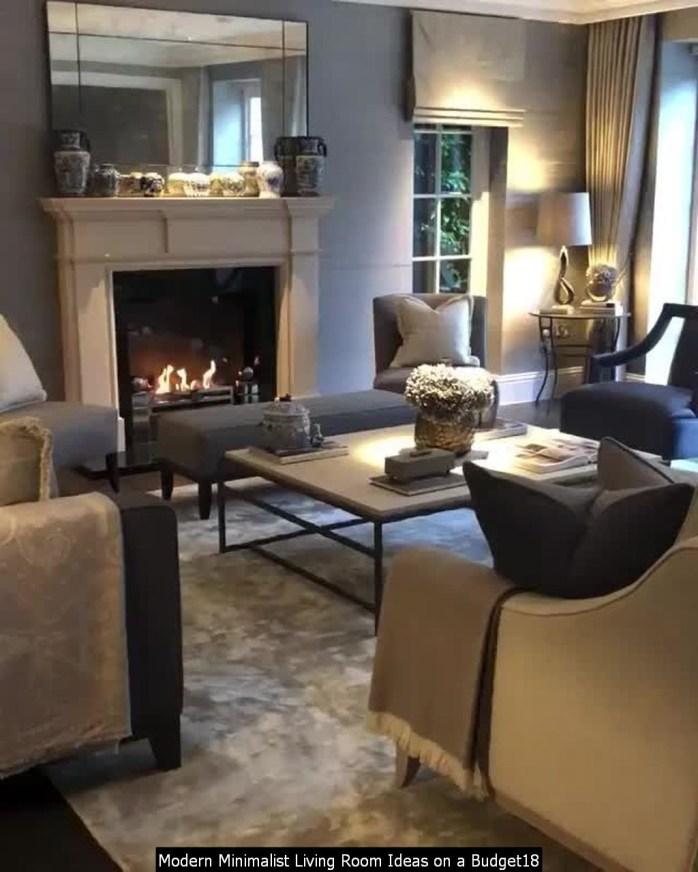Modern Minimalist Living Room Ideas On A Budget18