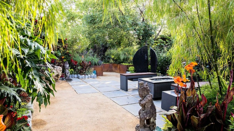 Bali-Inspired Tropical Landscaping