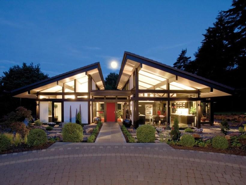 Simple Yet Elegant Metal Building Home