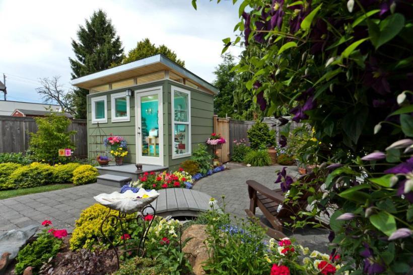 Backyard Garden for Family
