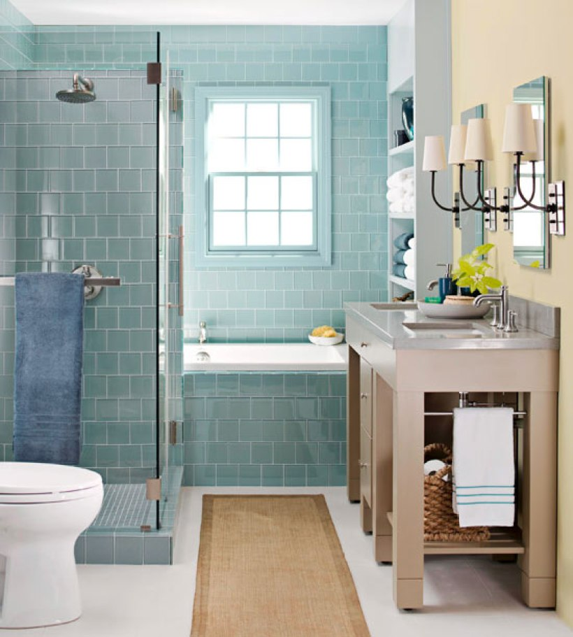 Small Bathroom with Full-Out Bathroom Experience
