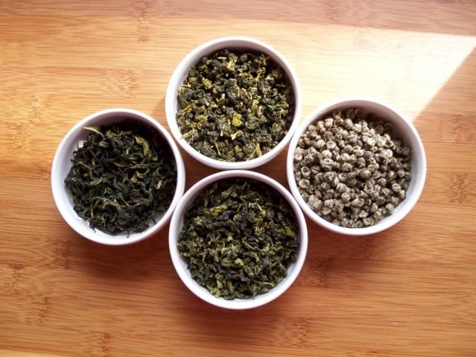 各式的茶葉