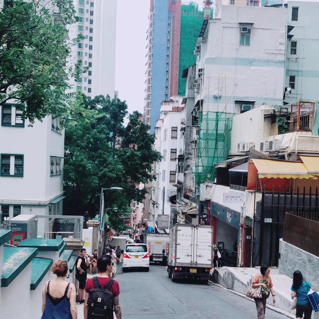 香港PMQ上坡
