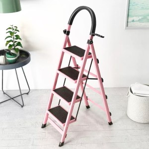 4 Steps Ladder- The Rack Ladder Series