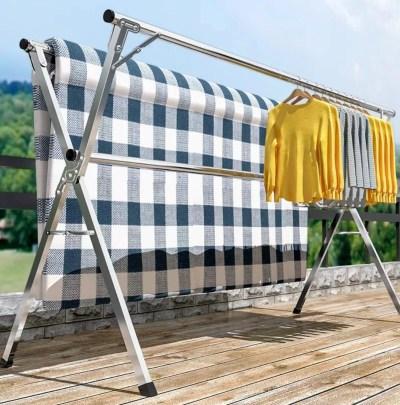 Portable Clothes Rack [Big Laundry