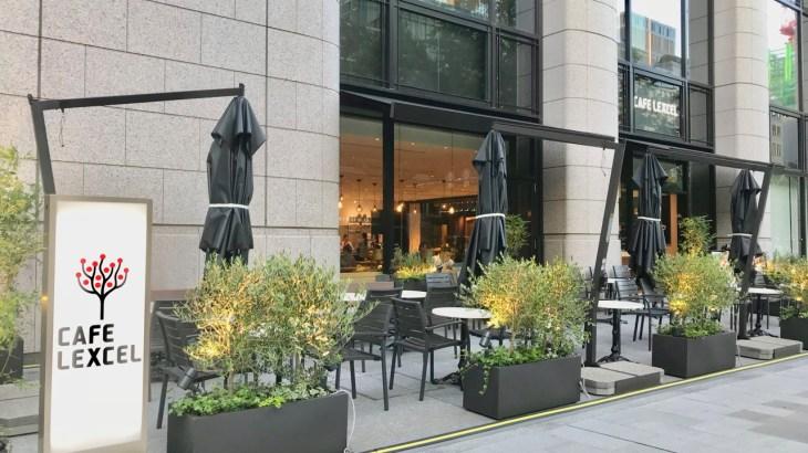 淀屋橋・御堂筋沿いに新カフェ「CAFE LEXCEL」オープン!窓際には電源席も