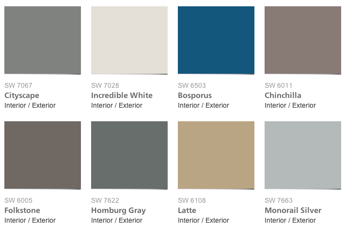 West Elm Color Collection For Sherwin Williams HOMMCPS