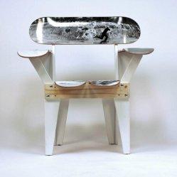 4. Chaise skate- Board.