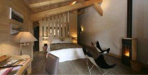 Chambre Hôtel Flocons de Sel.