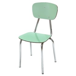 5. Chaise vert céladon.