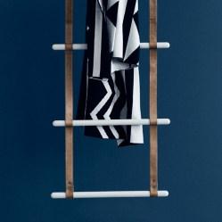 2. Porte-serviette.