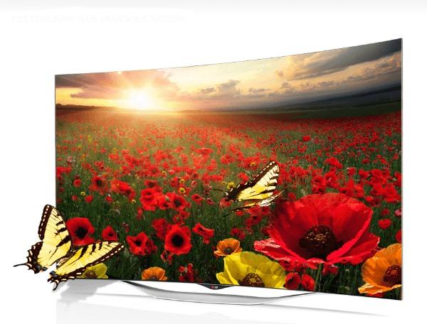 TV OLED Full HD LG 55EC930V. http://www.lg.com/fr