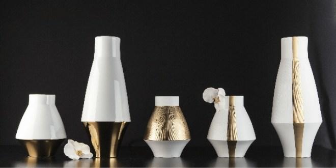 Vase Graphic et Infini, Haviland. A partir de 275 €. http://www.haviland.fr/#!infini-vase--gra/ca35