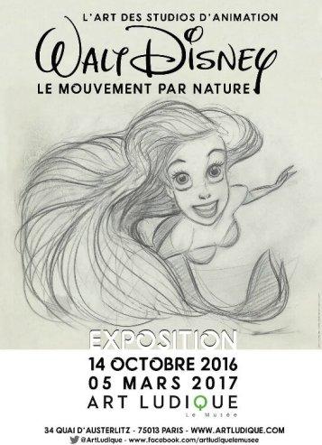 L'Art des Studios d'Animation Walt Disney Le Mouvement par Nature