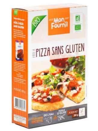 Préparation pâte à pizza bio, 3,95 €.