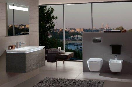 4. Meuble sous lavabo Villeroy & Bosch.