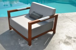 Fauteuil Club Collection Fjord, Art Mely.