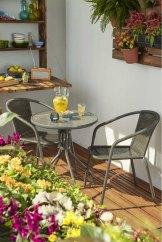 Salon de jardin Bari duo, Castorama.