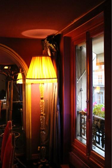 Salle privative, chez Julien.