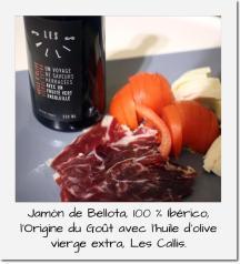 Jamon de Bellota + Les Callis