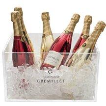 1. Vasque pour 6 bouteilles, Champagne Grémillet.