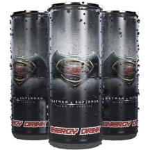 Batman VS Superman Energy Drink.