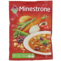 Soupe Minestrone, Leader Price.