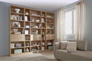 1. Bibliothèque sur mesure, Lapeyre.