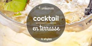 Cocktail en terrasse