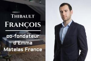 Thibault François, co-fondateur d'Emma Matelas France