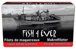 Filet de maquereaux à la sauce tomate pimentée, Fish4Ever