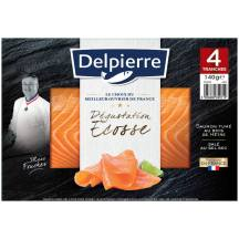 Saumon fumé dégustation Écosse, Delpierre