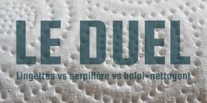 Read more about the article Lingettes vs serpillière vs balai-nettoyant : le duel
