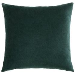 5. Coussin en velours vert émeraude, Maison du Monde