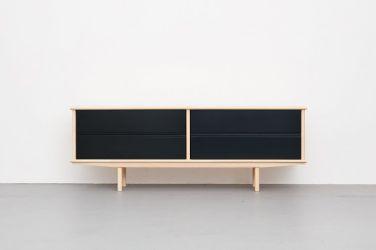 Splitter Sideboard 3 x 1 SK2 Black by Neuvonfrisch