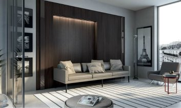 5. Armoire Lit Alcova Light, La Maison Convertible
