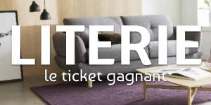 Literie, le ticket gagnant