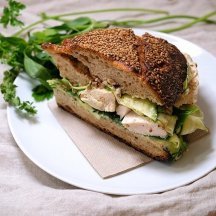 Sandwich Poulet, Boulangerie Sain