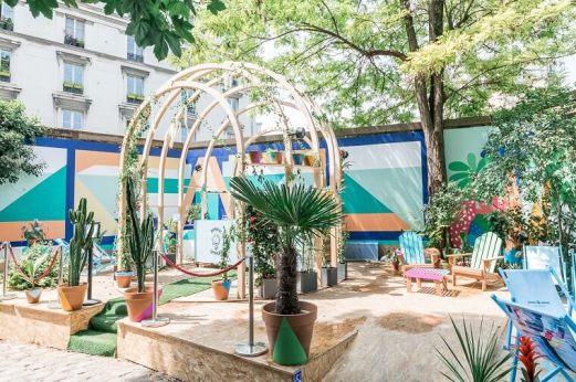 Bombay Sapphir au Café A