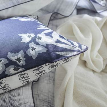 Parure de lit EMPREINTES en satin de coton