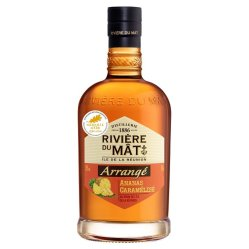 Rhum Ananas caramélisé, Rivière du Mat